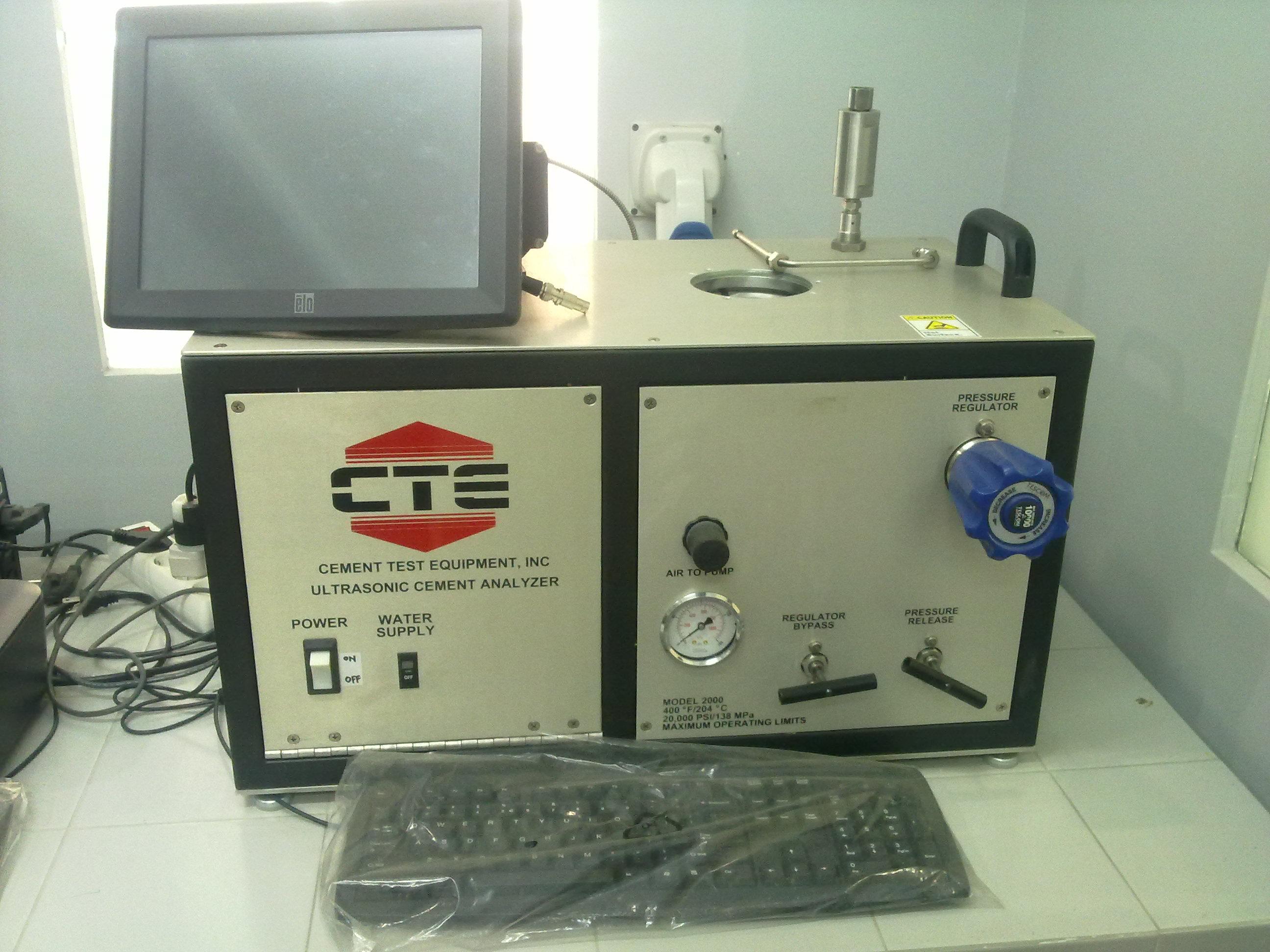 Ultrasonic Cement Analyzer (UCA)