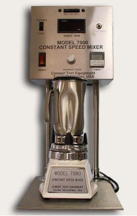 Constant Speed Mixer